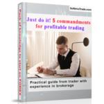 Book 5 commandment of successful trading!